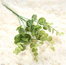 5 stks simulatie kleine eucalyptus bladeren gras boeket huis tuin feest decoratie nep planten vakantie gift kamer decor (C...