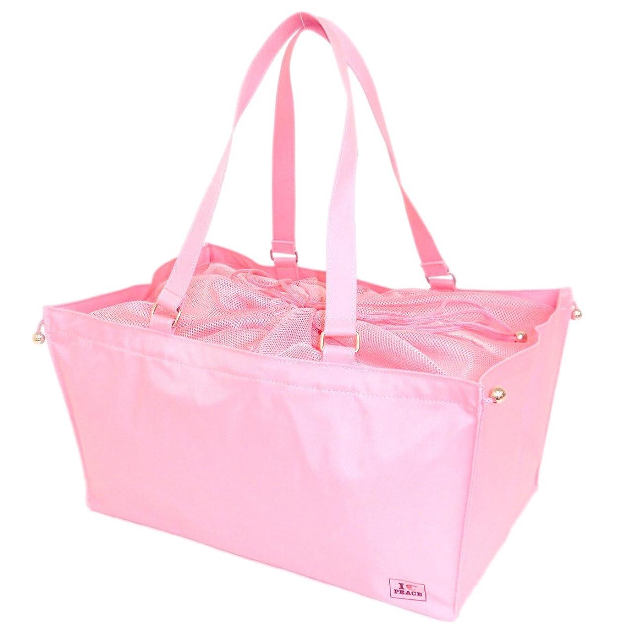 リスキーな知覚仲人マハロ 保冷 インナーバッグ ピンク 約42×28×21cm