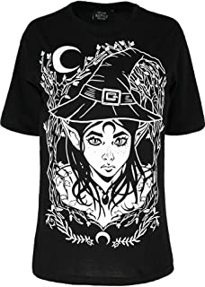 Restyle Elf Witch Wicca Witchcraft Gothic Oversized T-Shirt