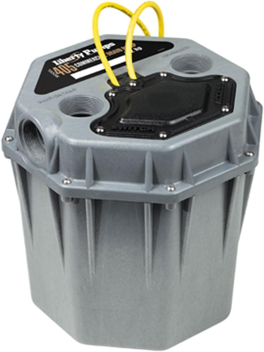 Liberty Pumps Max 47% OFF 405 Commercial Max 57% OFF 1 2 Drain Pump gray HP one-size