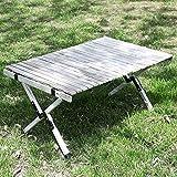 ZHONGLU CRAFTS Folding Picnic Table Camping...