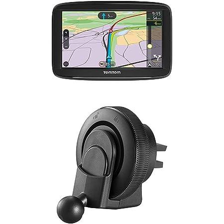 Tomtom Via 52 Europe Traffic Navigationsgerät 13 Cm 5 Zoll Sprachsteuerung Bluetooth Freisprechen Lüftungsschlitzhalterung Geeignet Für Tomtom Start Via Und Go Basic Navigationsgeräte Navigation