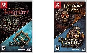 Planescape Torment & Icewind Dale: Enhanced Editions - Nintendo Switch & Baldur's Gate: Enhanced Edition - Nintendo Switch