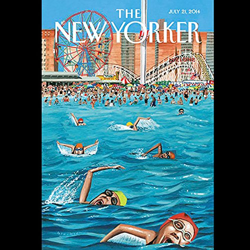 The New Yorker, July 21st 2014 (Nicholas Lemann, Rachel Aviv, George Packer) audiobook cover art