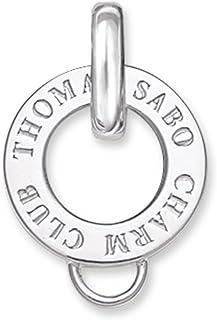Thomas Sabo Women-Carrier Charm Club 925 Sterling silver X0017-001-12