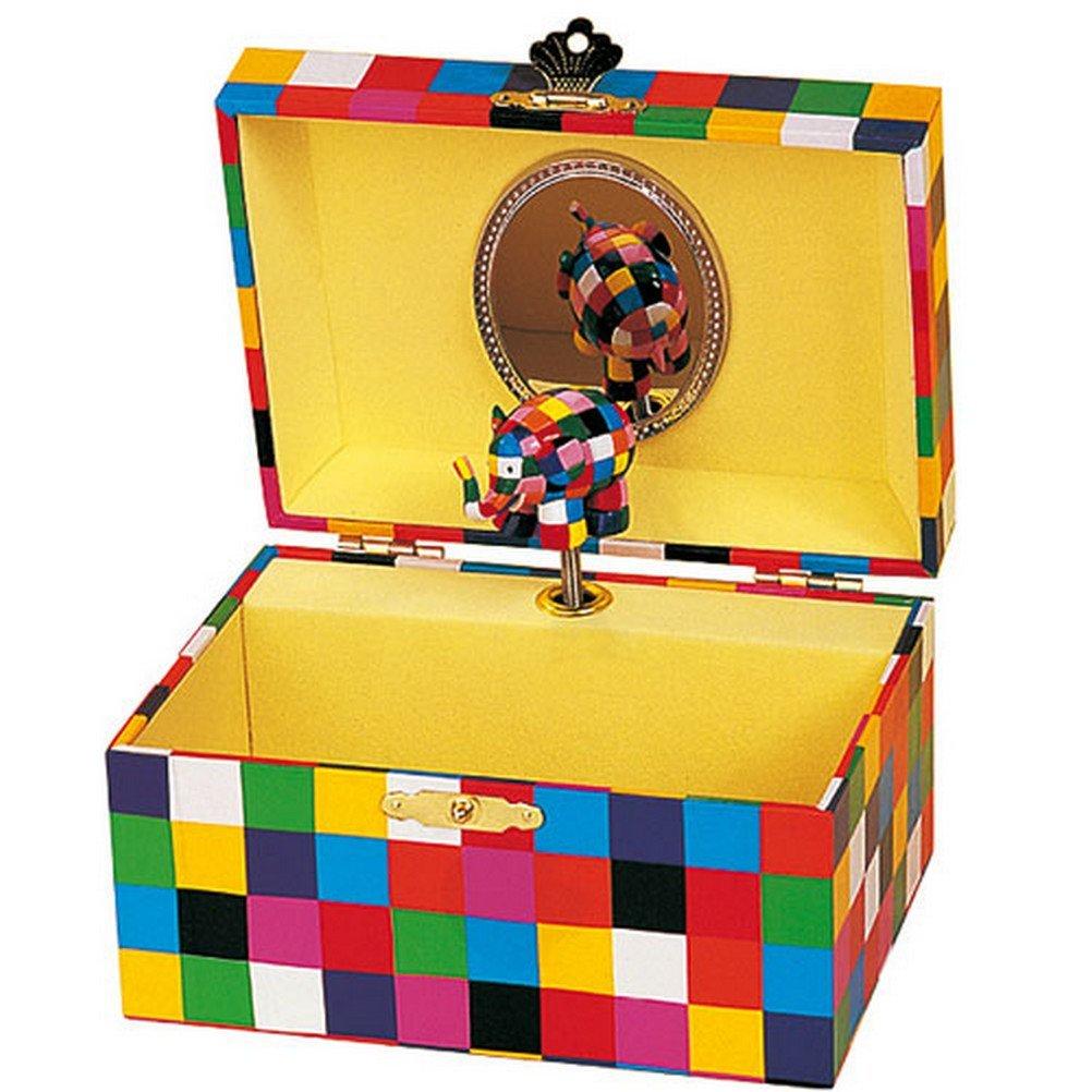 No Name (foreign brand) Trousselier Spieldose Elmer© Klassik: Amazon.es: Juguetes y juegos