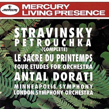 Stravinsky: Petrouchka; The Rite of Spring; 4 Etudes