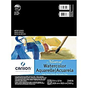 """CANSON Artist Series, 9""""X12"""", 0"""