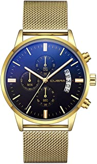 Watches Clearance,Nice Quartz Watch Stainless Steel Dial Casual Bracele Watch (E)