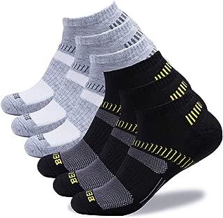 Men's Low Cut Athletic Running Socks (6 Pack)