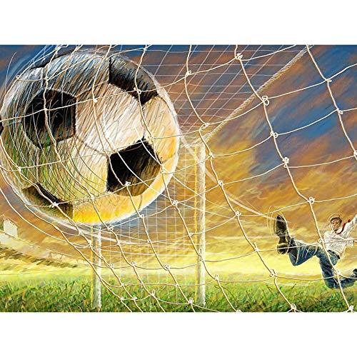 MOL 5D DIY diamant schilderij spel voetbal wooncultuur kruis Ctitch Kit volledige ronde boren borduurwerk kunsthandwerk stenen geschenken 50x70cm