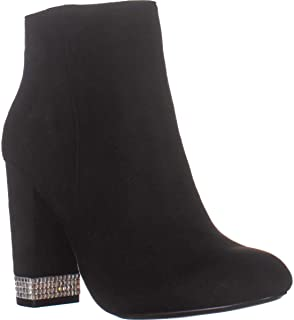 XOXO Womens Yardria Suede Closed Toe Ankle Fashion Boots US