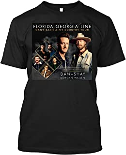 Men's Florida Tour Georgia 2019 Line Country Transtv 10 Classic T Shirt Deep Heather with Short Sleeve