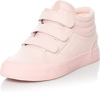 DC Women's Evan Hi V Se J Shoe Row Rosewater Leather Sneakers-5 UK/India (38 EU) (3613373266668)