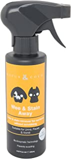 Rufus & Coco Natural Wee & Stain Away Pet Odor & stain Remover for Cat & Dog Urine, Faeces, Vomit, Apple Scented