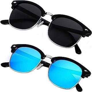 3f513e8d4b9 Polarized Sunglasses For Men Women Classic Half Frame Semi Rimless ANDWOOD  Mens Sunglass Polarized Uv Protection