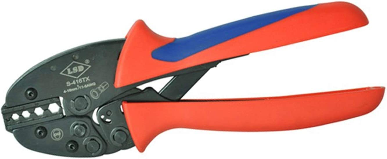 MM-Crimp tool Durable Ratchet 5 ☆ very popular Crimping Oakland Mall Insualted Non Tools Hand
