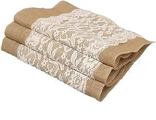 Best burlap lace wedding decor Reviews