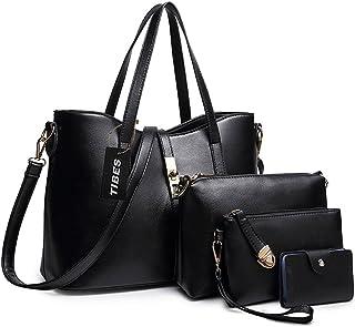 TIBES Handtaschen damen Handtasche mädchen Weiche handtasche Taschen damen set Beutel Top handle bags Tragetaschen Messeng...