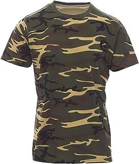 c385a8e1a5eb Amazon.es: camiseta camuflaje niño - Envío internacional elegible: Ropa
