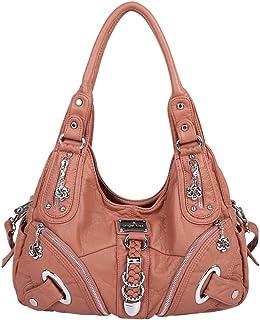 a9c0a126bee2 Handbag Hobo Women Bag Roomy Multiple Pockets Street ladies  Shoulder Bag  Fashion PU Tote Satchel