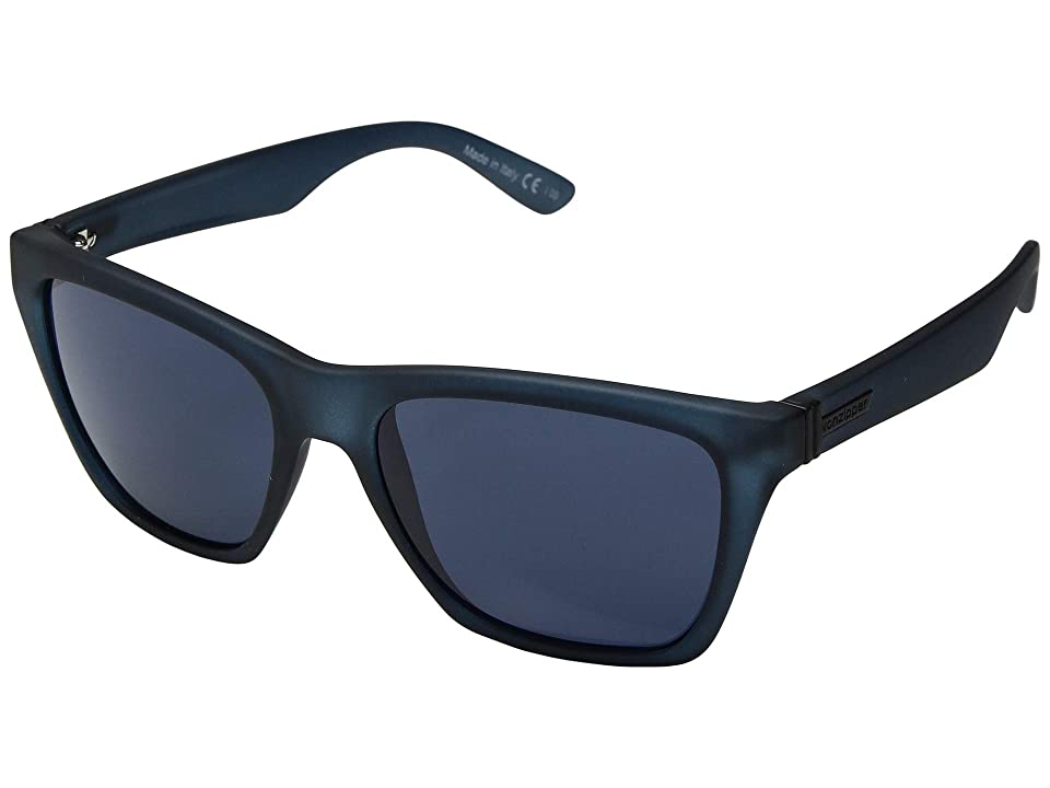 VonZipper Booker (Navy Satin/Grey/Blue) Sport Sunglasses