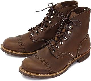 [レッドウィング] 8111 IRON RANGE BOOTS(アイアンレンジブーツ) Amber Harness Leather