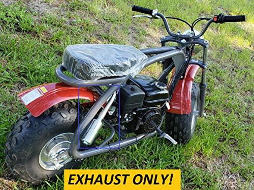 ARSPORT Exhaust with Muffler for: Coleman BT200X Mini Bike.