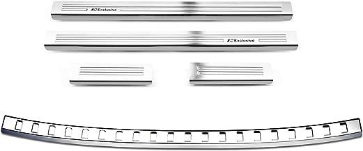 SparSET für SEAT ARONA FR Einstiegsleisten Ladekantenschutz Schwarz Matt 160µm