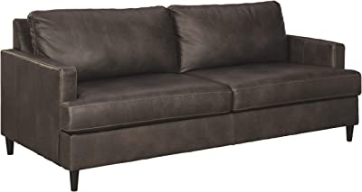 Super Amazon Com Modern Bonded Leather Sectional Sofa Small Machost Co Dining Chair Design Ideas Machostcouk