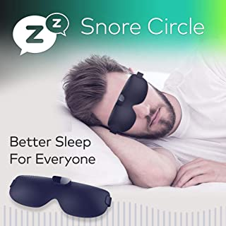 HZYWL Anti Snoring Devices, Stopper Sleep Aids,Smart Snoring Eye Mask, Bluetooth Technology Records and Analyzes Sleep Datas