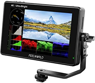 FEELWORLD LUT7 7 Inch Ultra Bright 2200nit Touch Screen Camera DSLR Field Monitor with 3D Lut Waveform Vectorscope Automat...