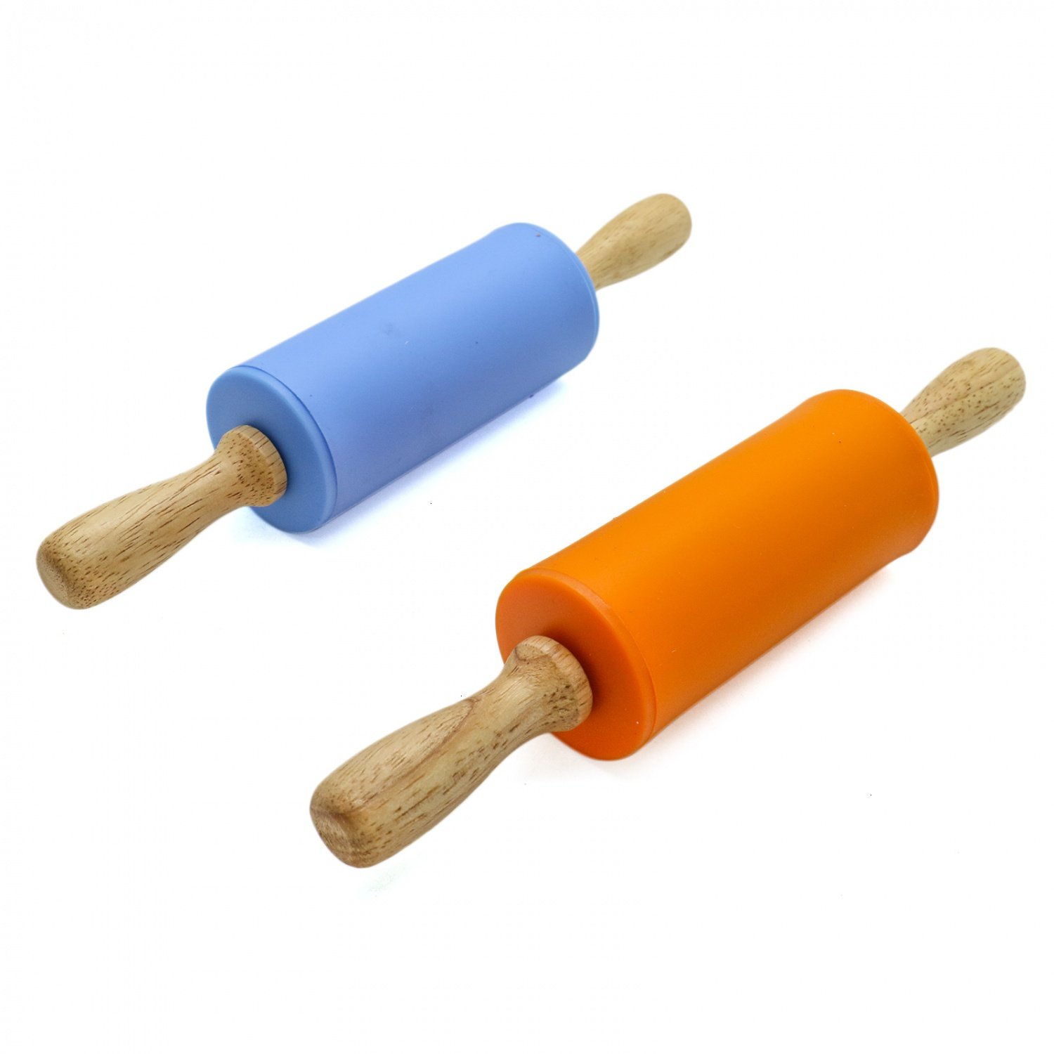 Rugjut Rolling Wooden Non Stick Silicone