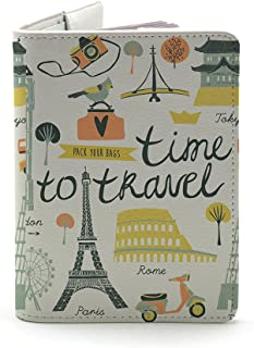 (Time To Travel (Both sides Printed) - White)