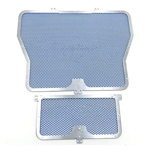 Cubiertas para radiador de motocicleta para BMW S1000RR S1000XR S1000R HP4 S1000 RR/R/XR 2010-2017 motocicleta radiador rejilla aceite enfriador cubierta protección kit (color: azul)