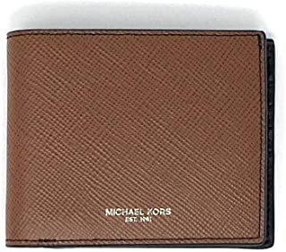 Michael Kors Men's Harrison Billfold مع محفظة مرور لا يوجد صندوق