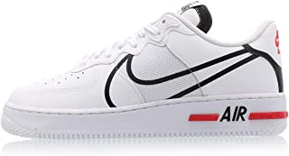 air force 1 react bianche