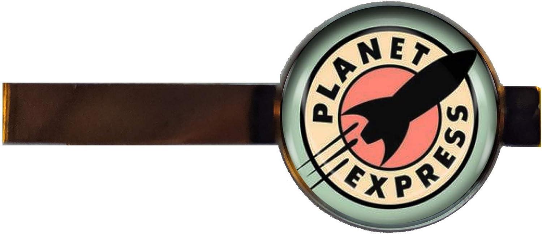 Chaoticfashion Planet Express tie Clip Jewelry Futurama Gift Charm