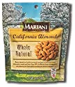 Almonds Whole Natural Stand Up Ziplock, 6.0oz