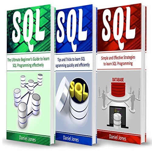 SQL: 3 Books in 1 audiobook cover art