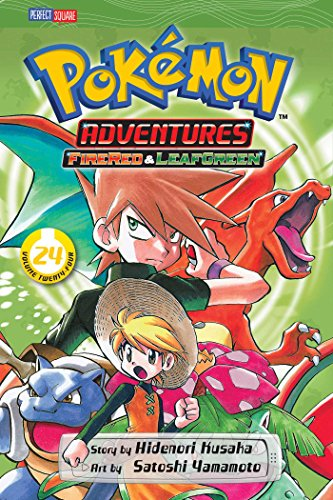Pokemon Adventures 24: Firered & Leafgreen
