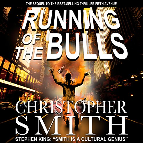 Running of the Bulls audiobook cover art