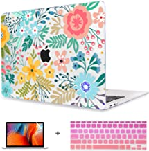 Maychen Plastic Hard Shell Case Cover Only Compatible MacBook Pro (W/O USB-C) Retina 13 Inch (A1502/A1425) (W/O CD-ROM) 3IN1 (Colorful Flowers)