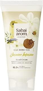 Sabai-arom Jasmine Infusion Hand Cream 75 g. (4 Pack)