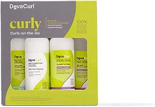 DevaCurl Curls-on-the-Go Kit, Curly