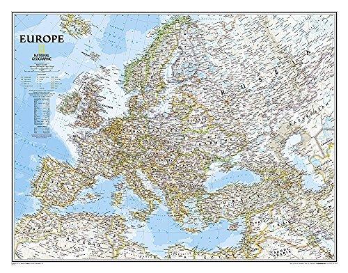 Europe Classic [Laminated] (National Geographic Reference Map) by National Geographic Maps - Reference (2015-12-03)