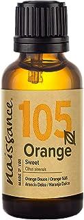 Naissance Sweet Orange Essential Oil (nr. 105) 30ml - Puur, Natuurlijk, Koud Geperst, Wreedheidvrij, veganistisch en onver...