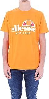 Ellesse T-Shirt Uomo Logo Orange