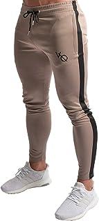 (ビベター)Bebetter ジョガーパンツ トレーニングパンツ メンズ スリム ロングパンツ ファスナー付き 通気性 フィットネス スウェットパンツ