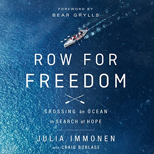 Row for Freedom audiobook cover art